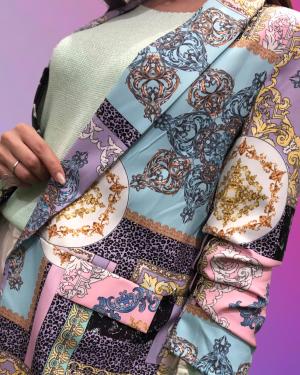 blazer con manica arricciata veronica