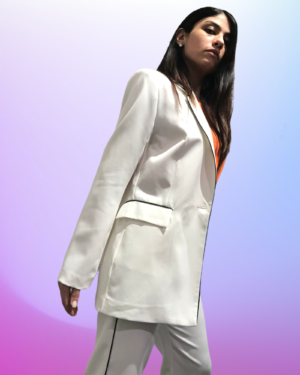 blazer gilda bianco