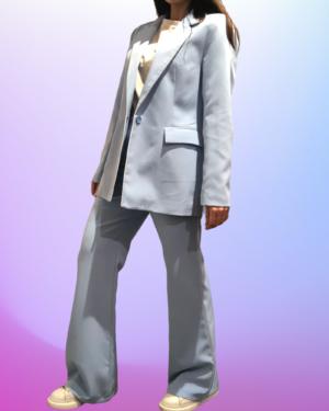 completo celeste lumina fashion