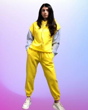 joggers giallo