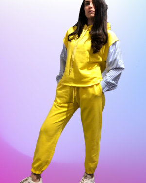 joggers giallo lumina