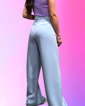 pantalone lumina retro celeste