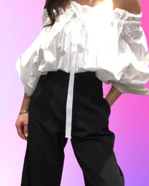 pantalone nero lumina fashion