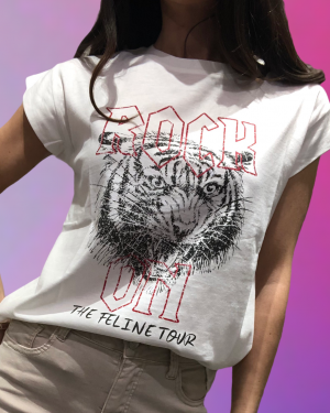 t-shirt rock e lion