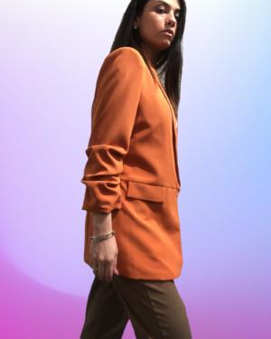 blazer arancio