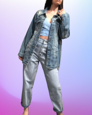 giacca in jeans