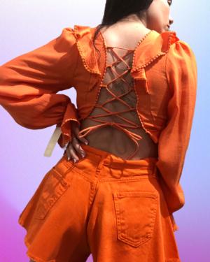 amal arancio retro
